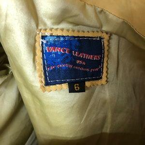 Vintage Jackets & Coats - VINTAGE🎄Early 2000s Vance Leathers beaded jacket